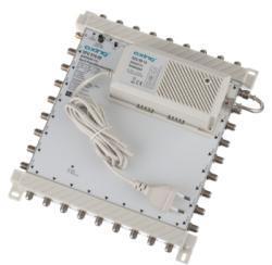 Axing SPU910-09, DiSEqC-Multischalter 9/10, 2 Sat-Positionen, 1 Terrestrischer Eingang, 10 Tn