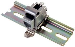 Telegärtner Hutschienen-Adapter IP20 für AMJ-Module Kat.6