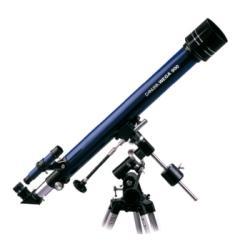 Danubia Teleskop Wega, D70/F900mm, Typ: Refraktor (Linsenteleskop)