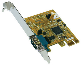 Serielle 16C550 RS-232 PCI-Express Karte (MosChip)