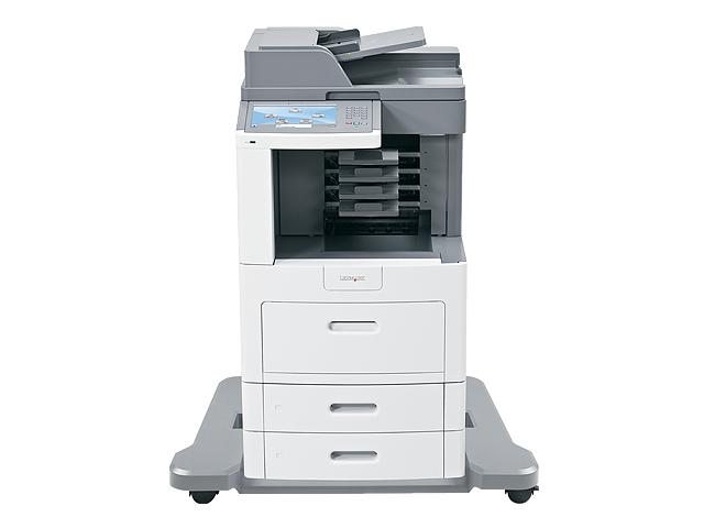 Lexmark X658dme, Schwarzweiss Laser Drucker, A4, 53 Seiten pro Minute, Drucken, Scannen, Kopieren, Fax, Duplex