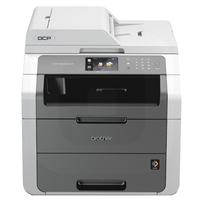 Brother DCP-9020CDW, Farblaser Drucker, A4, 18 Seiten Pro Minute, Drucken, Scannen, Kopieren, Duplex und WLAN