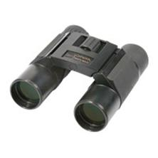 Danubia Fernglas Pocket 10x25, schwarz, Metallgehäuse, inkl. Nylontasche