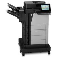 Hewlett-Packard HP LaserJet  Enterprise Flow M630z, Schwarzweiss Laser Drucker, A4, 57 Seiten pro Minute, Drucken, Scannen, Kopieren, Fax, Duplex