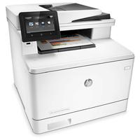 Hewlett-Packard HP Pro M477FDN, Farblaser Drucker, A4, 27 Seiten pro Minute, Drucken, Scannen, Kopieren, Fax, Duplex