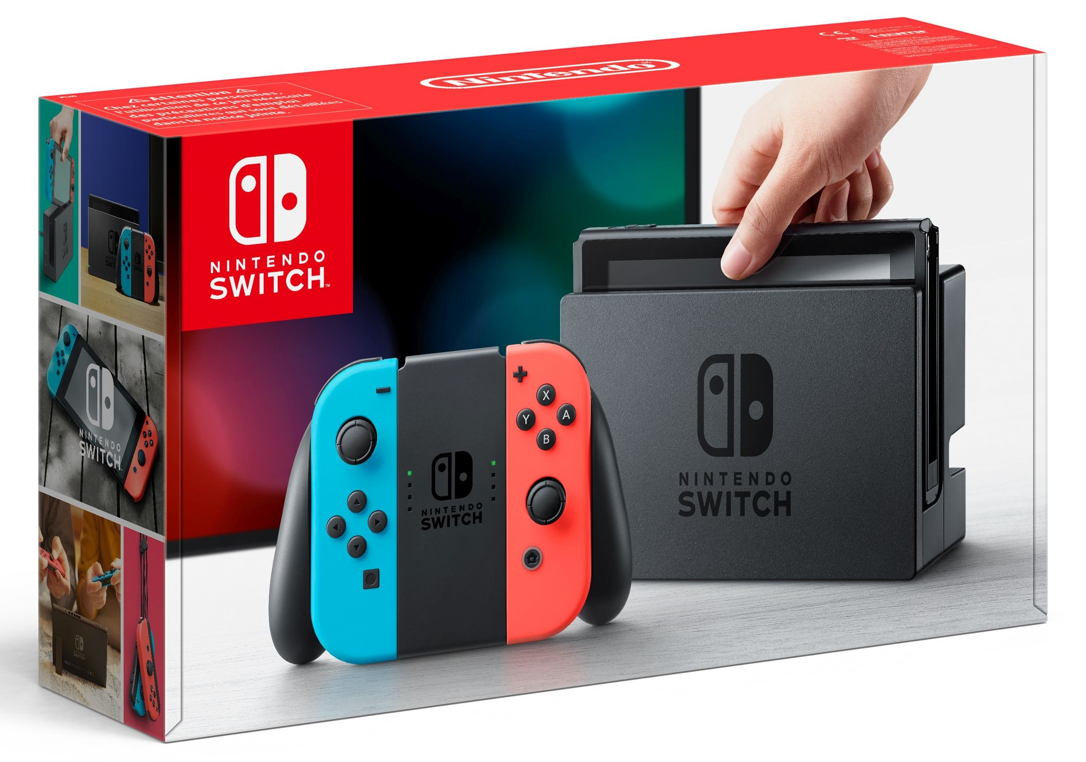 Nintendo Switch Console - neon-rot/neon-blau [NSW] (D/F/I)
