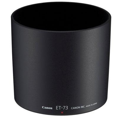 LENS HOOD ET-73 Canon Lens Hood ET-73. Other features: 95 x 95 x 88  NMS