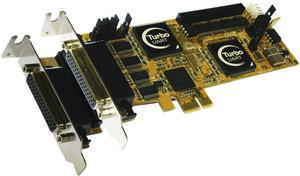 EX-44378 , 8xSeriell RS232, PCI Express I/O Karte, Chipset: Oxford OXPCIe958, 8 x FIFO 16C950,