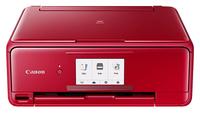 Canon Multifunktionsdrucker TS8152, Farbe Tintenstrahl Drucker, A4, 15 Seiten pro Minute, Drucken, Scannen, Kopieren, Duplex und WLAN