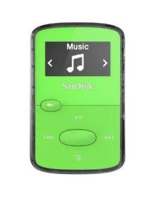 SanDisk Clip Jam 8 GB + Radio + microSD Slot - green