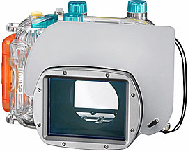 Canon Unterwassergehäuse WP-DC34, für Powershot G11, für max. Tiefe von 40m,