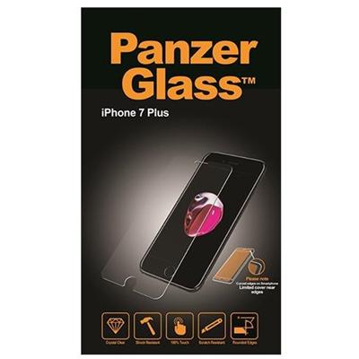 Panzerglass Displayschutz Classic iPhone 7Plus Mobiltelefon Kompatibilität: iPhone 7 Plus, Folien Effekt: Fettabweisend, Hochtransparent, Kratzfest, Kristallklar, Reflexionsreduktion, Selbstklebend, Stossfest, Verpackungseinheit: 1 Stück