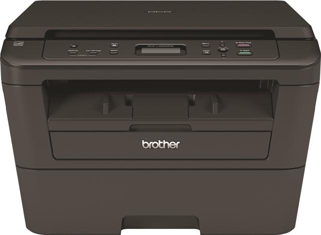 Brother DCP-L2520DW, Schwarzweiss Laser Drucker, A4, 26 Seiten Pro Minute, Drucken, Scannen, Kopieren, Duplex und WLAN