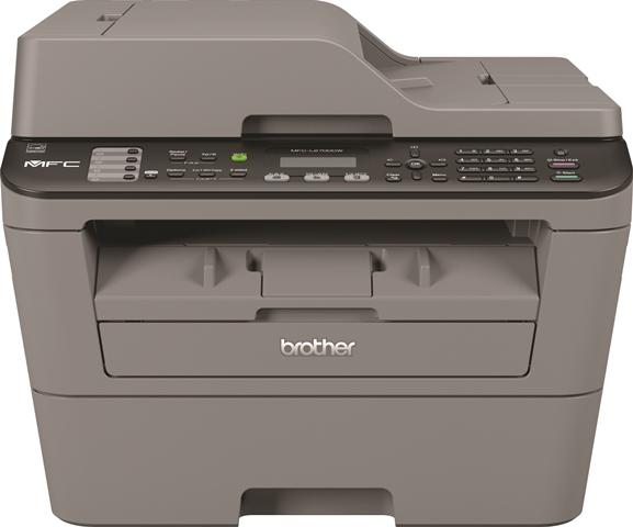 Brother MFC-L-2700DW, Schwarzweiss Laser Drucker, A4, 26 Seiten Pro Minute, Drucken, Scannen, Kopieren, Fax, Duplex und WLAN