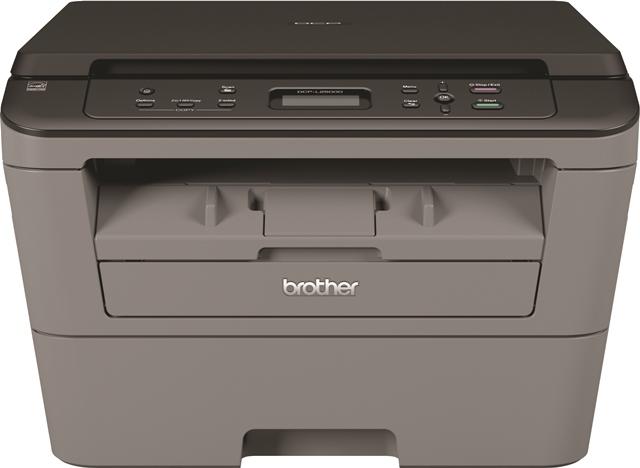 Brother DCP-L2500D, Schwarzweiss Laser Drucker, A4, 26 Seiten Pro Minute, Drucken, Scannen, Kopieren, Duplex und WLAN