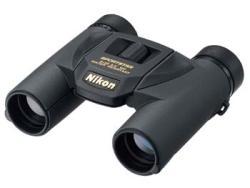 Nikon Fernglas Sportstar EX 8x25 DCF, schwarz, Spritzwassergeschütz durch O-Ringe
