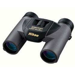 Nikon Fernglas Sportstar EX 10x25 DCF, schwarz, Spritzwassergeschütz durch O-Ringe