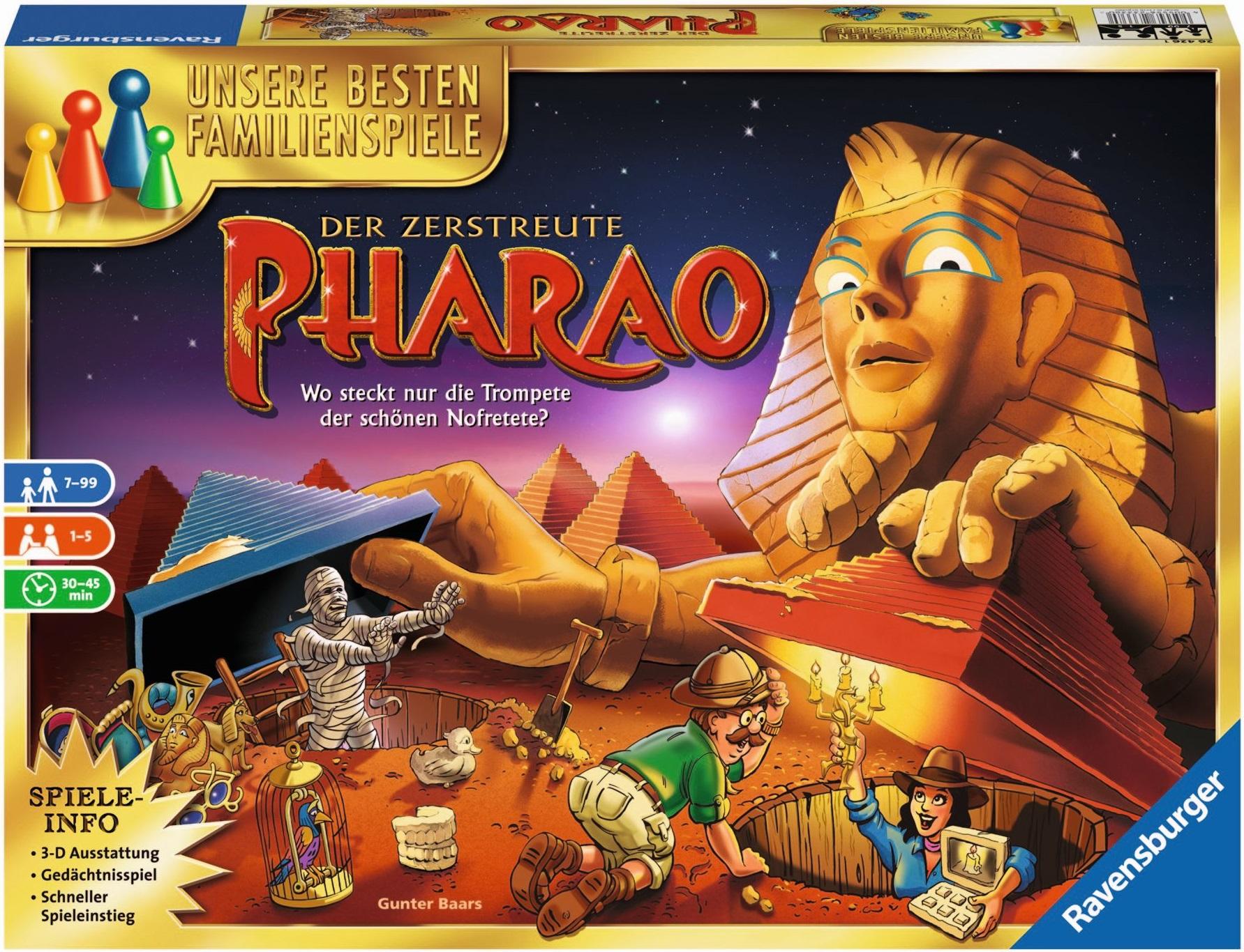 Der zerstreute Pharao