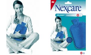 3M Nexcare ColdHot Gel-Wärmflasche Traditional, blau