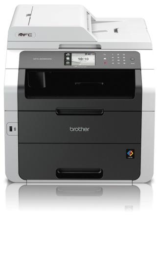 Brother MFC-9330CDW, Farblaser Drucker, A4, 22 Seiten pro Minute, Drucken, Scannen, Kopieren, Fax, Duplex und WLAN