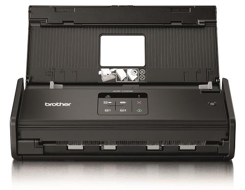 Brother ADS-1100W,USB,WLAN,600x600 dpi,Duplex,ADF für 20 Blatt,128MB interner Speicher,