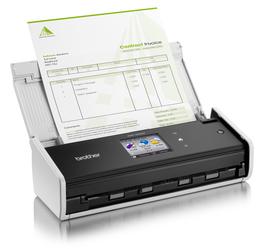 ADS-1600W Compact Scanner 6.9cm Touchscreen/ Eingabetyp:Farbe,ADF,Einzugsscanner/ Vorlagenform.:Visitenkarten, DIN A4/ Scangeschw.: 18 ppm/ opt. Aufl.: 600x600 dpi/ USB 2.0, Wireless Ethernet 802.1/ Kabel inbegriffen: nein/ Duplex: automatisch/ 256