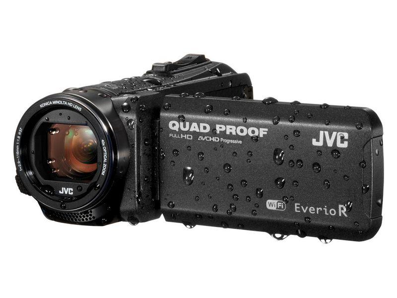 JVC Videokamera GZ-RX605B, Widerstandsfähigkeit: Staubgeschützt; Frostbeständig; Schlagfest; Wasserfest, Bildschirmdiagonale: 3 \