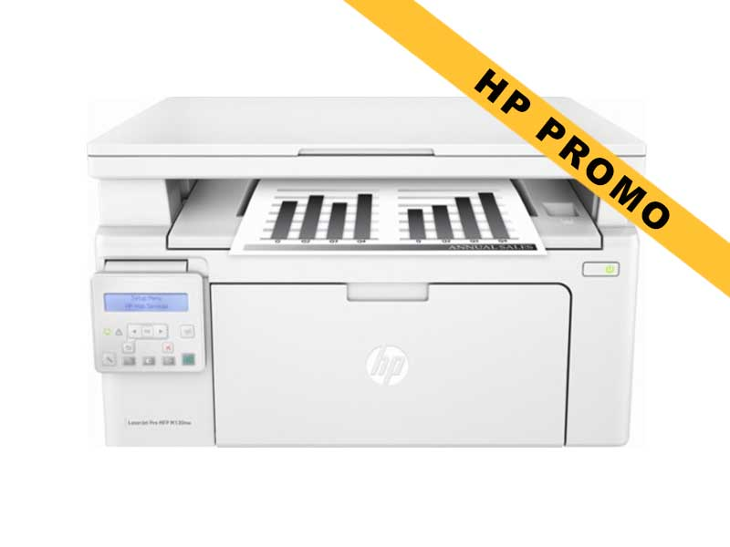 Hewlett-Packard HP LaserJet Pro MFP M130nw, Schwarzweiss Laser Drucker, A4, 22 Seiten pro Minute, Drucken, Scannen, Kopieren, WLAN