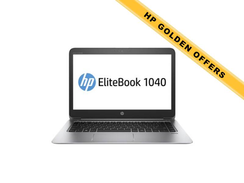 Hewlett-Packard HP Notebook Elitebook 1040 G3 1EN15EA, Intel Core i7-6500U, 8GB DDR4 RAM, 512GB SSD, 14 Zoll, 1920 x 1080 Pixel, Windows 10 Pro
