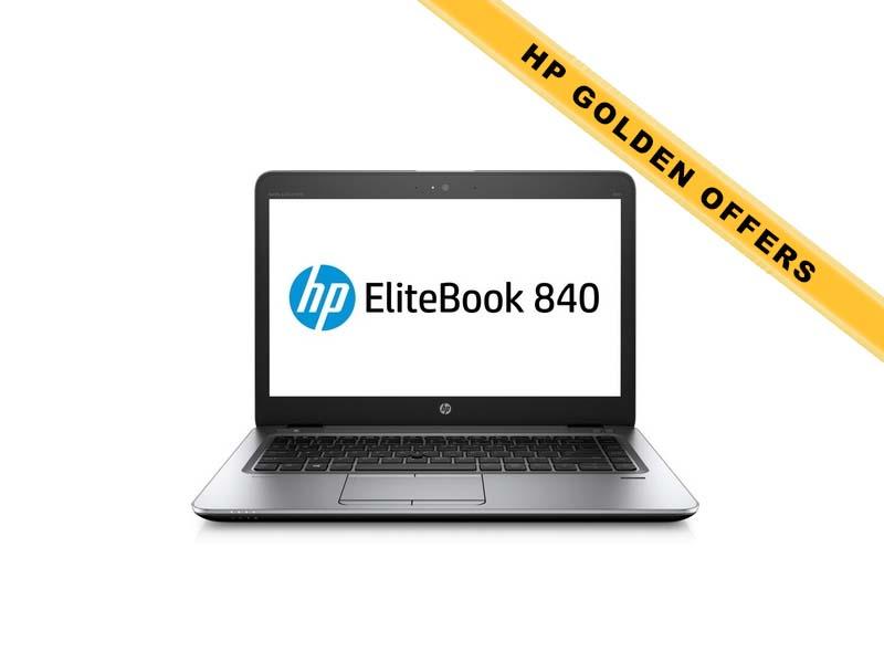 Hewlett-Packard HP Notebook Elitebook 840 G3 1EM47EA, Intel Core i5-6200U, 8GB DDR4 RAM, 256GB SSD, 14 Zoll, 1920 x 1080 Pixel, Windows 10 Pro