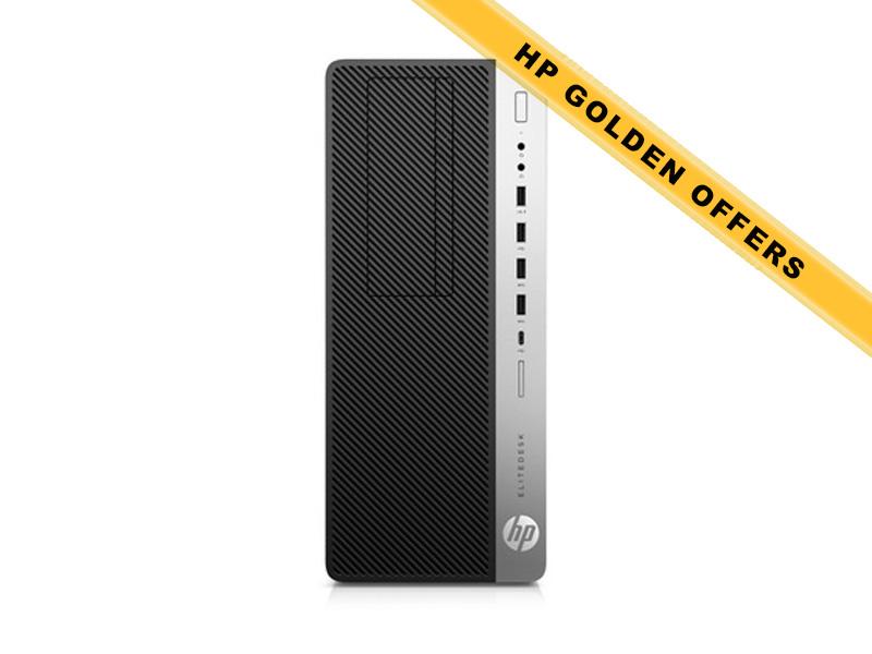 Hewlett-Packard  HP EliteDesk 800 G3 TWR i7-7700 Intel HD Graph 1x8GB 256GB PCIe SSD USB Kbd & USB Mouse DVD+-RW Win 10 Pro