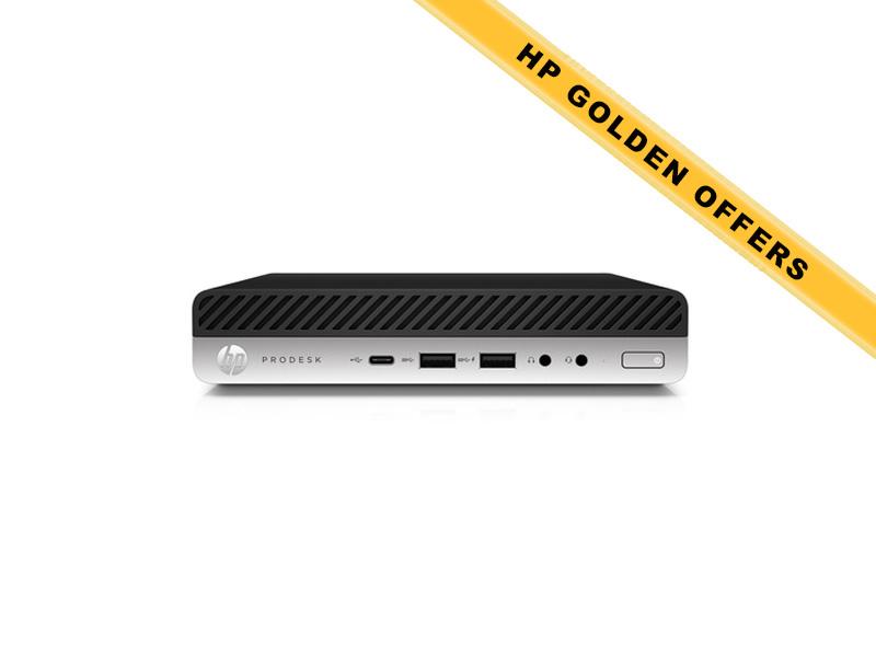 Hewlett-Packard HP ProDesk 600 G3 DM (Mini) i5-6500T 8GB (2x 4GB) RAM 256GB SSD Intel HD Graphics WLAN+BT Win7Pro64ML (Win10Pro Lic)