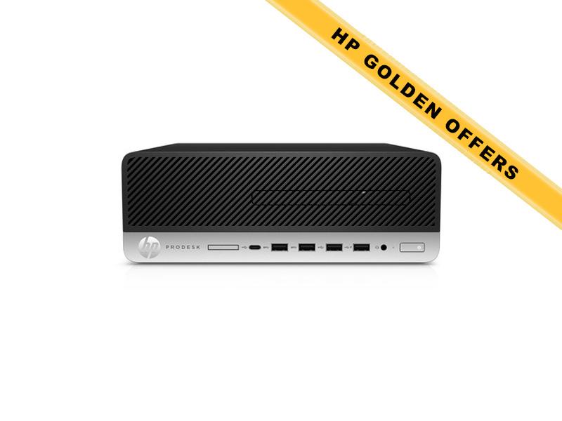 Hewlett-Packard  HP ProDesk 600 G3 SFF i5-6500 8GB (2x4GB) RAM 1TB HDD Intel HD Graphics DVD-RW Win7Pro64ML (Win10Pro Lic)