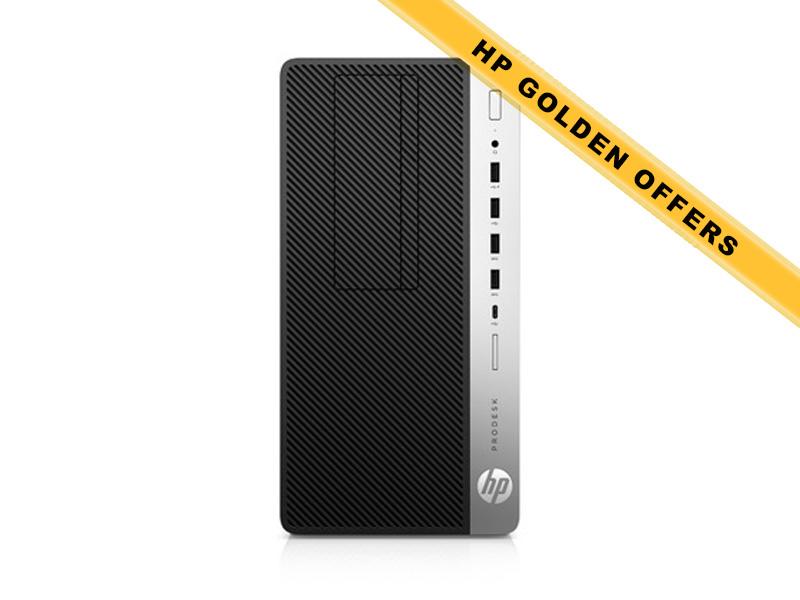 Hewlett-Packard HP ProDesk 600 G3 MT i7-6700 8GB (2x4GB) RAM 256GB SSD Intel HD Graphics DVD-RW Win7Pro64ML (Win10Pro Lic)