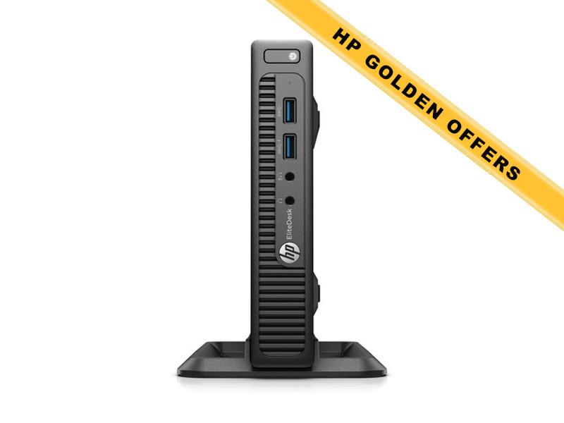 Hewlett-Packard HP EliteDesk 705 G3 Mini / AMD PRO A10 8770E 1x8GB 256GB SSD DVD Win7 Pro 64 / 10 Pro 64