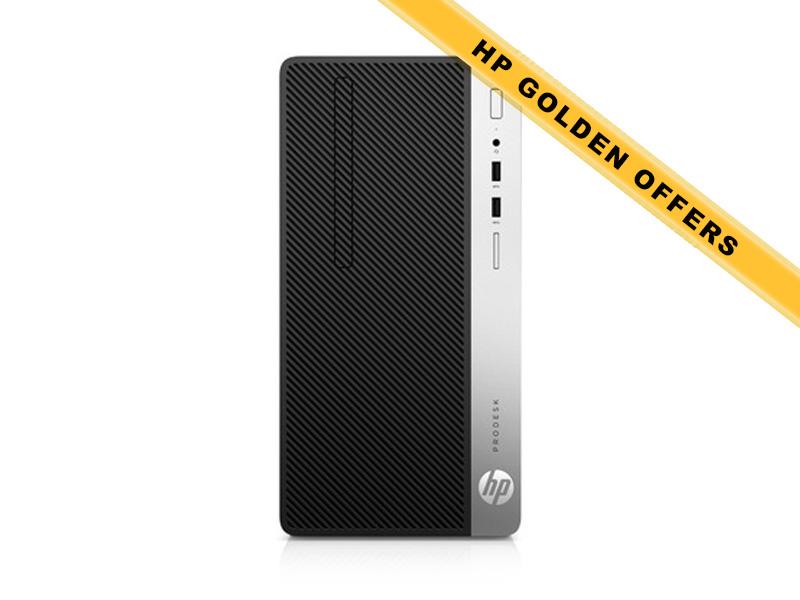 Hewlett-Packard  HP ProDesk 400 G4 MT i7-6700 8GB (1x8GB) RAM 256GB SSD Intel HD Graphics DVD-RW Win7Pro64ML (Win10Pro Lic)