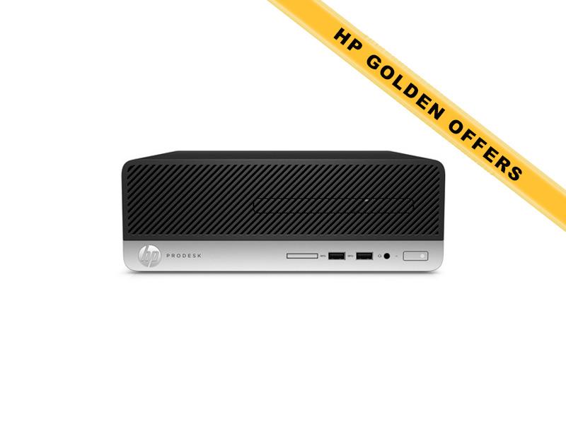 Hewlett-Packard  HP ProDesk 400 G4 SFF i5-6500 8GB (1x8GB) RAM 1TB HDD Intel HD Graphics DVD-RW Win7Pro64ML (Win10Pro Lic)