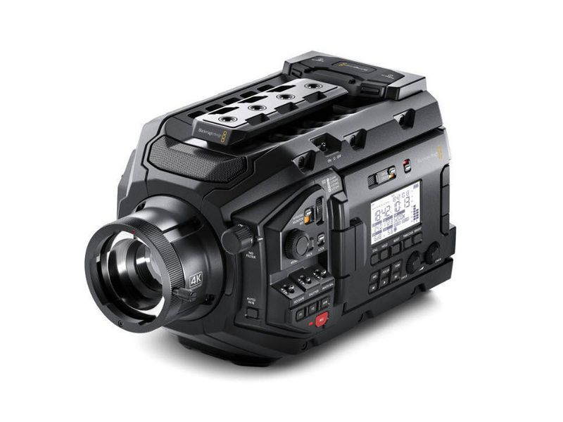 Blackmagic Design Videokamera URSA Broadcast, Widerstandsfähigkeit: Keine, Bildschirmdiagonale: 4 \
