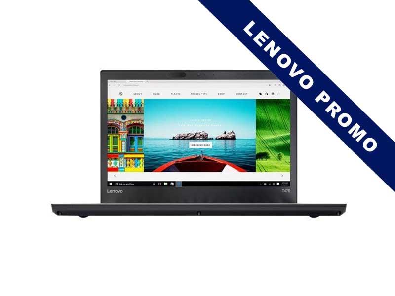 Lenovo Notebook ThinkPad T470, Intel Core i5-7200U, 8GB DDR4 RAM, 512GB SSD, 14 Zoll, 1920 x 1080 Pixel, Windows 10 Pro