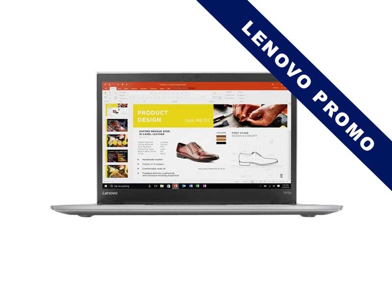 Lenovo Notebook ThinkPad T470s LTE, Intel Core i5-7200U, 8GB DDR4 RAM, 256GB SSD, 14 Zoll, 1920 x 1080 Pixel, Windows 10 Pro