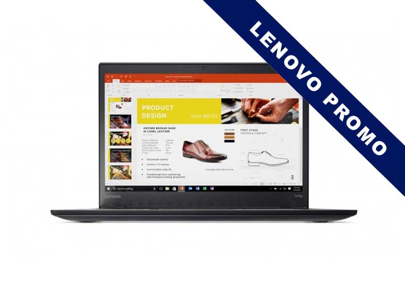 Lenovo Notebook ThinkPad T470s, Intel Core i7-7500U, 8GB DDR4 RAM, 256GB SSD, 14 Zoll, 1920 x 1080 Pixel, Windows 10 Pro