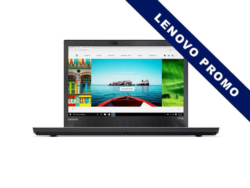 Lenovo Notebook ThinkPad T470p LTE, Intel Core i7-7700HQ, 16GB DDR4 RAM, 512GB SSD, 14 Zoll, 2560 x 1440 Pixel, Windows 10 Pro