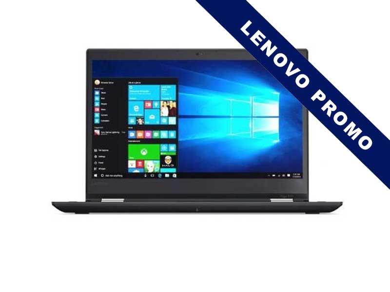 Lenovo Notebook ThinkPad Yoga 370 LTE, Intel Core i7-7500U, 8GB DDR4 RAM, 512GB SSD, 13.3 Zoll, 1920 x 1080 Pixel, Windows 10 Professional