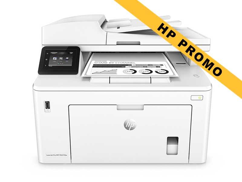 Hewlett-Packard HP LaserJet Pro MFP M227fdw, Schwarzweiss Laser Drucker, A4, 28 Seiten pro Minute, Drucken, Scannen, Kopieren, Fax, Duplex und WLAN