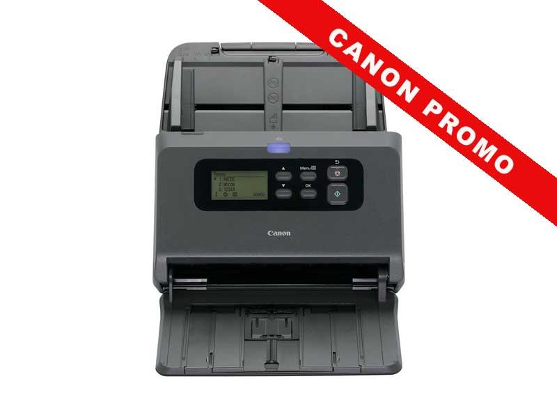 Canon Dokumentenscanner DR-M260 Verbindungsmöglichkeiten: USB, Scanner Funktionen: Duplex-Vorlagenwechsler (D-ADF), Maximales Scanformat: A4, Scangeschwindigkeit Max.: 60 Seiten, Empfohlenes Tagesvolumen: 7500 Seiten, ADF Kapazität: 80 Seiten