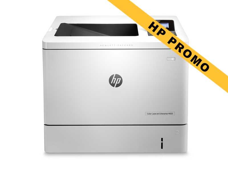 Hewlett-Packard HP M553dn, Farblaser Drucker, A4, 38 Seiten pro Minute, Drucken, Duplex und WLAN