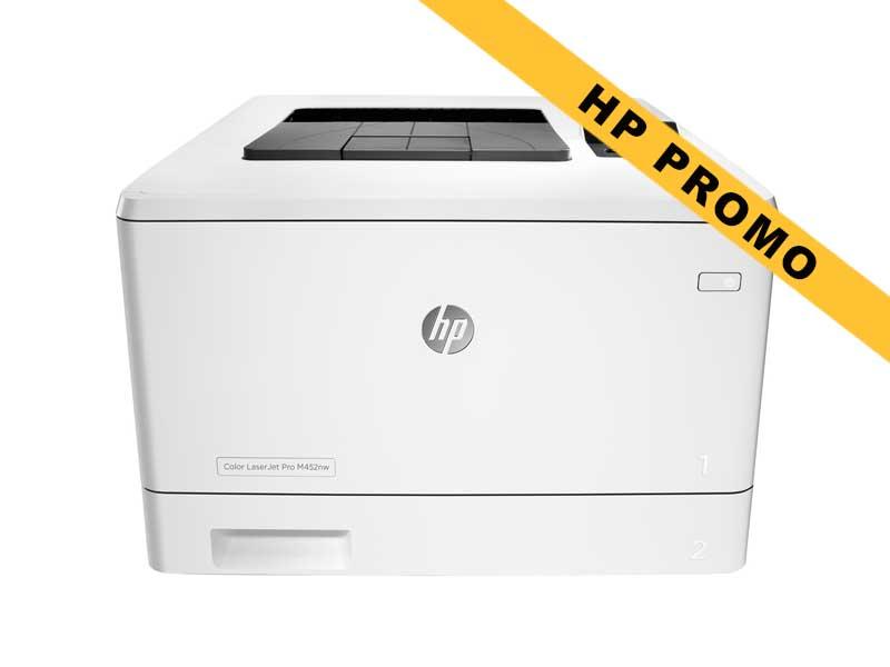 Hewlett-Packard HP Pro M452nw, Farblaser Drucker, A4, 27 Seiten pro Minute, Drucken, Duplex und WLAN