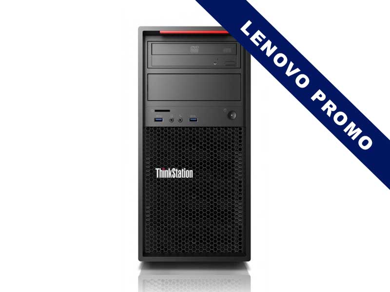LENOVO Topseller ThinkStation P320 TWR i7-7700 8GB 256GB SSD DVD-RW W10P 3y OS