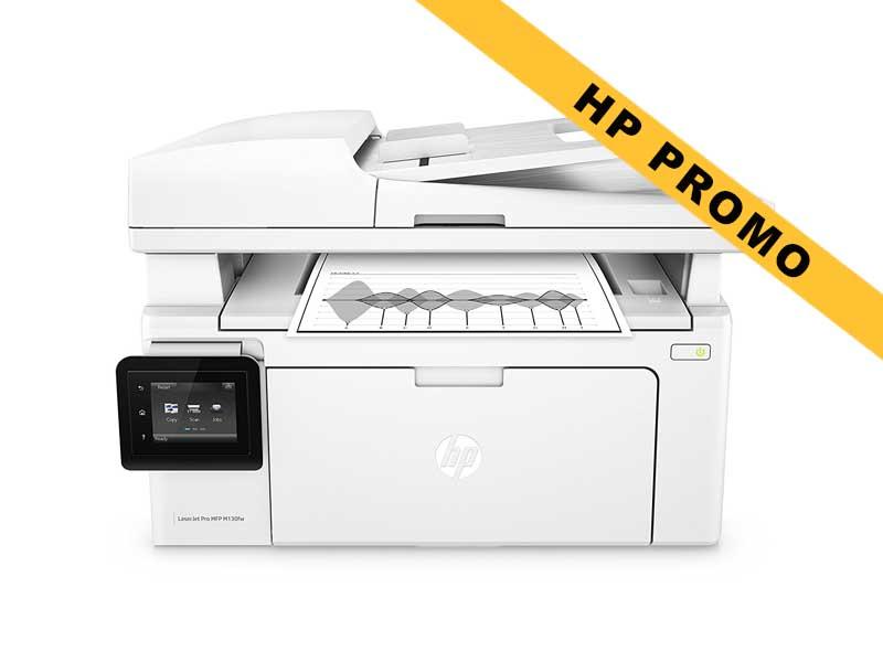 Hewlett-Packard HP LaserJet Pro MFP M130fw, Schwarzweiss Laser Drucker, A4, 22 Seiten pro Minute, Drucken, Scannen, Kopieren, Fax, WLAN