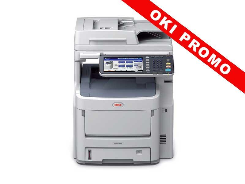 OKI MC770dnfax, Farblaser Drucker, A4, 36 Seiten pro Minute, Drucken, Scannen, Kopieren, Fax, Duplex